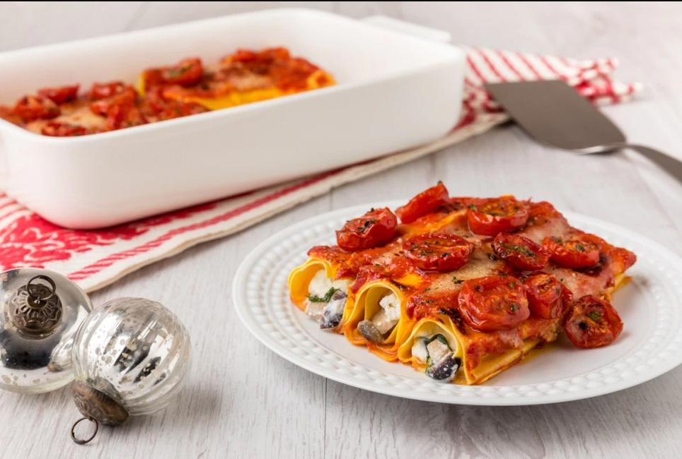 Итальянские рецепты рулетики из лазаньи